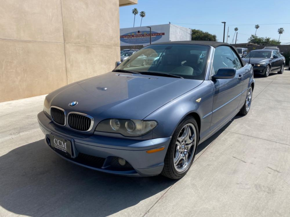 2005 BLUE BMW 3-Series 325Cic (WBABW33425P) with an L6, 2.5L; DOHC 24V engine, AUTOMATIC transmission, located at 30 S. Berkeley Avenue, Pasadena, CA, 91107, (626) 248-7567, 34.145447, -118.109398 - Photo #0