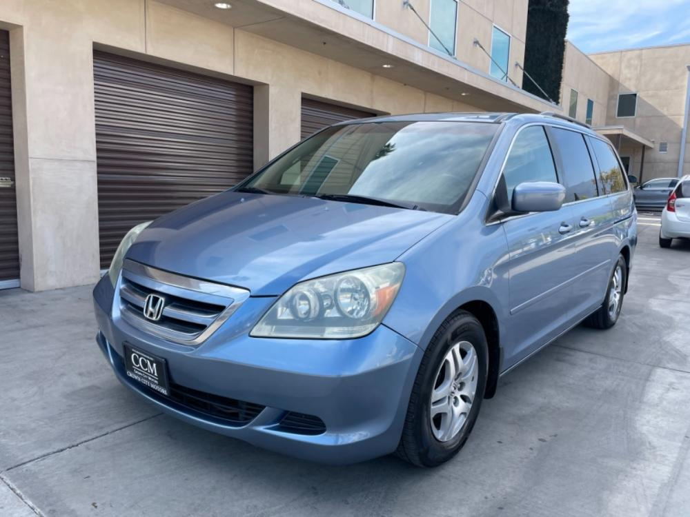 2006 Blue /Gray Honda Odyssey EX-L (5FNRL38716B) with an 3.5-Liter V6 Cylinder Engine engine, 5-speed automatic transmission transmission, located at 30 S. Berkeley Avenue, Pasadena, CA, 91107, (626) 248-7567, 34.145447, -118.109398 - Photo #0